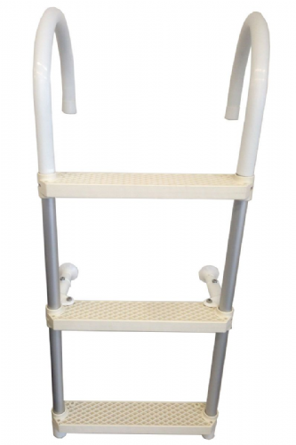 Aluminium 3 Step Folding Boarding Ladder Swimming Ladder